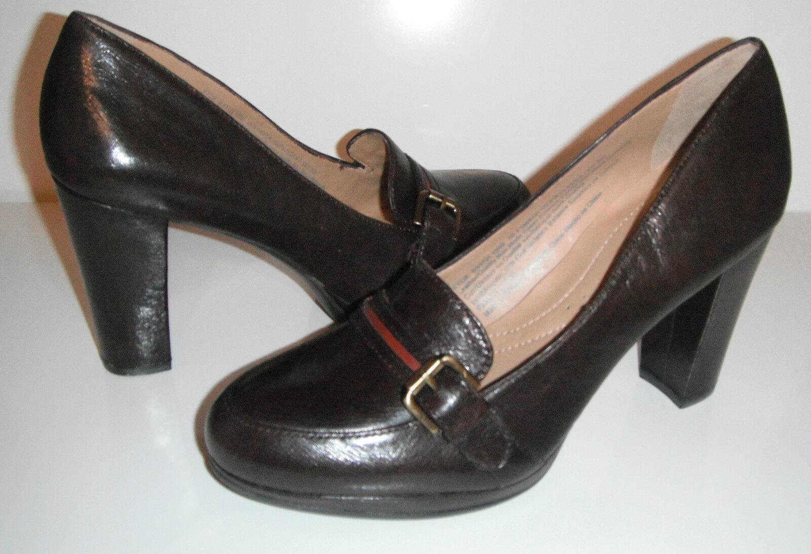 100 NOUVEAU Naturalizer Femme Kylie Cuir Mocassins Chaussures sz 8.5 M