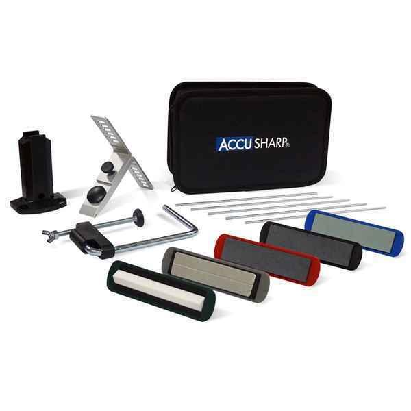 AccuSharp 5-Stone Precision Kit Messerschärfer Messerschleifer aus Deutschland  | Billig ideal
