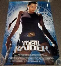 Tomb Raider Original Movie Theater Poster 27x40in D//S