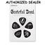10-Grateful-Dead-Medium-Celluloid-Guitar-Picks-Black-D-039-Addario thumbnail 1