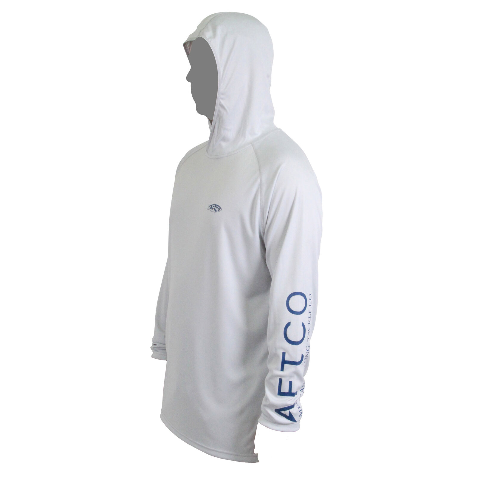 AFTCO Samurai  Hooded Shirt, White, Large  online sales