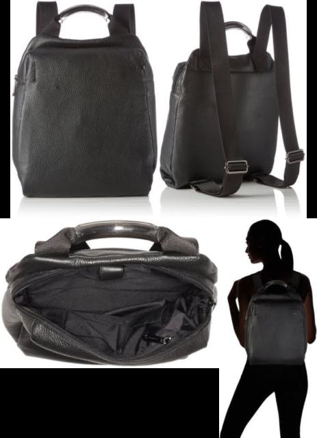rivenditore all'ingrosso 540b4 ca3f2 Mandarina Duck Mellow Leather Tracolla, Women's Shoulder Bag, Black (Nero),  7x27