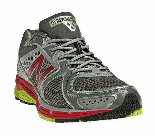 New Mens New Balance 1260 v2 M1260GR2 Running shoes Silver Red MSRP  145