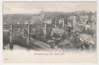 Yorkshire (West) postcard - Knaresborough from Castle Hill
