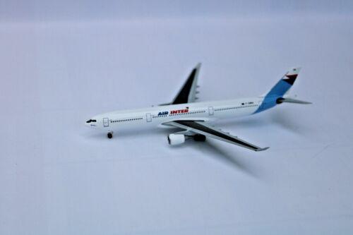 air inter airbus a330-300 nuevo en caja original Herpa 526760-1:500
