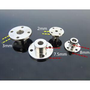 3mm Starre Flansch Kupplung Motorwelle Welle Motorführung Wellenkupplung