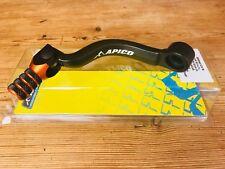 Apico Gear Lever Pedal fits KTM SX 125 144 150 EXC XC 01-16 Forged Elite Orange