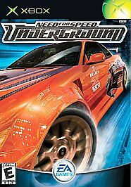 Need For Speed Underground Microsoft Xbox 2003 For Sale Online