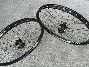 Halo Sas Disc Wheels Wheelset Pair 8 9 10 Speed Black 26