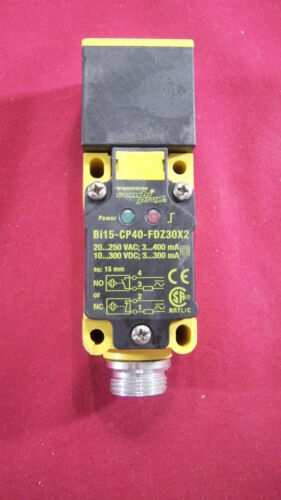 Proximity Sensor Turck  Bi15-CP40-FDZ30X2-B1131