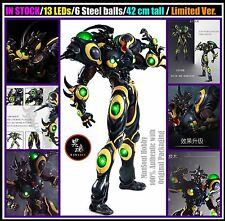 BIG SALE Sanken Bio Booster Armor Black 1/6 Gigantic Guyver III Action Figure
