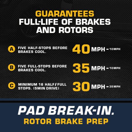 Ceramic Pads For 2012-2015 2016 Subaru Impreza Front+Rear Disc Brake Rotors