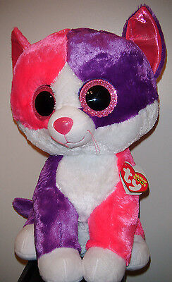 Ty 2015 Claire Pellie The Cat Beanie Boo Jumbo 16