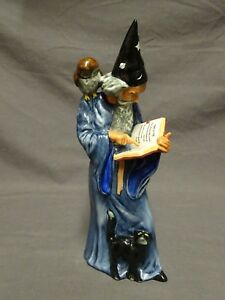 COLLECTABLE-ROYAL-DOULTON-FIGURE-FIGURINE-HN2877-THE-WIZARD