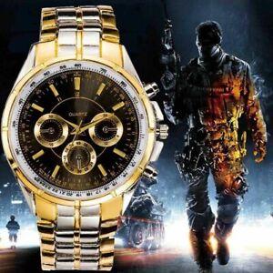 Luxus-Herren-Sports-Outdoor-Dress-Uhr-Edelstahl-Analog-Armbanduhr-2019mode-A4T1