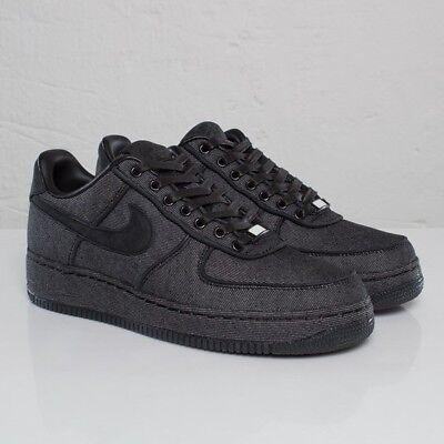 """Nike Air Force One Low Premium """"Black"""