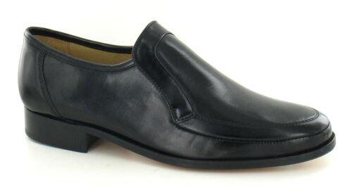 """Thomas Blunt chaussures /""""Baxter 2/' Gents Cuir Noir Cousu à La Main Véritable Mocassin Chaussures"""