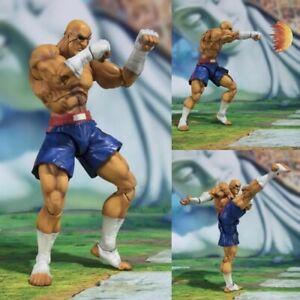 Street Fighter V S.H.Figuarts Figures Sagat TAMASHII NATIONS preorder préco