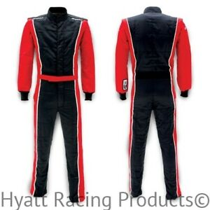 Racing Fire Suits >> Details About Impact Racer 1 Piece Auto Racing Fire Suit Sfi 5 All Sizes Colors
