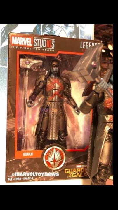 Marvel Legend Studious the first ten years Ronan Figure 10th anniversary Limited