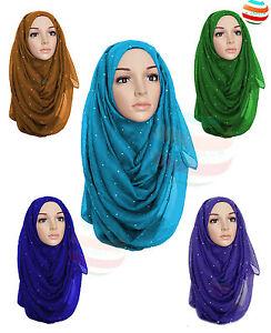 Ladies Big Large Maxi Plain Viscose//Rayon Shawl Scarf Hijab Sarong Wrap Cape*VIS