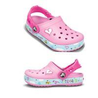New Summer Beach Kids Girls Clogs-Croc Sandals Plane Creative Shoe 6/7 8/9 10/11