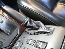 Para Range Rover P38 HSE DSE Cuero Negro Freno De Mano Gaitor Nuevo