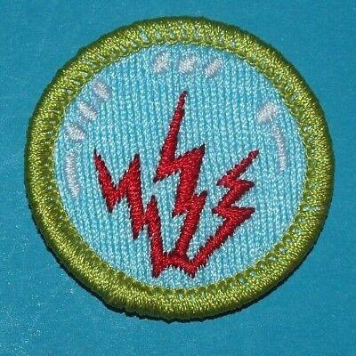 RADIO TYPE K MERIT BADGE BSA LOGO BACK BOY SCOUTS 8796 EBay