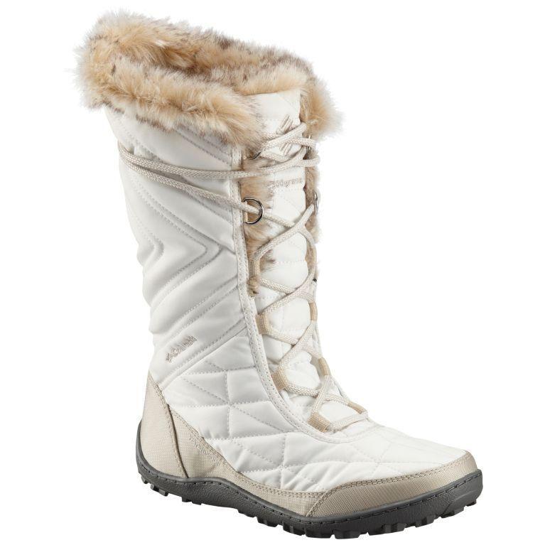 New Women's Columbia Minx Minx Minx Mid III Boots 1803121-125 Sea Salt Size 10 0e1a63