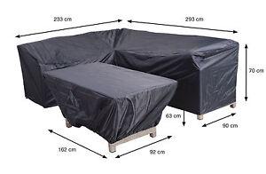 Uberlegen Das Bild Wird Geladen XL Gartenmoebel Schutzhuelle Fuer  Lounge Set Abdeckung Plane