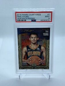 2018-Court-Kings-Trae-Young-Rookie-Portraits-199-Pop-1-None-Higher-PSA-9
