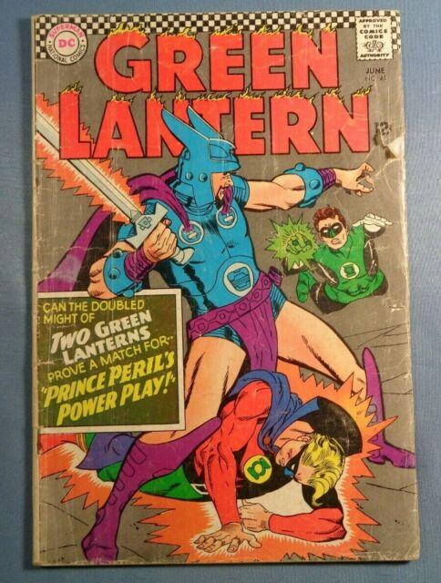 Green Lantern #45 VG- Golden Age Green Lantern Appearance Silver Age DC Comics