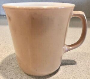 Vintage-Pyrex-Corning-Ware-Tan-Coffee-Mug-Cup-D-Handle