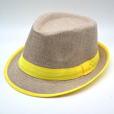 Estivo Idea Regalo Compleanno Cappello da Sole Unisex Uomo Donna in Paglia Traspirante Anti UV Escursionismo Tesa Larga Spiaggia