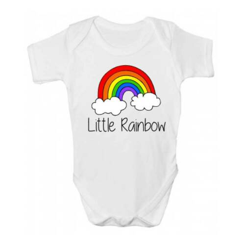 Petit Rainbow Baby Grow//body-Bébés Mignon Rainbow Baby Clothing