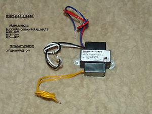 (LOT OF 4) 24 volt HVAC transformers--120V/208V/220V ...