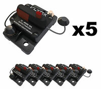 Qty5 Vcb50 Shakespeare Comp 24v Trolling Motor 50a Fuse Marine Circuit Breaker