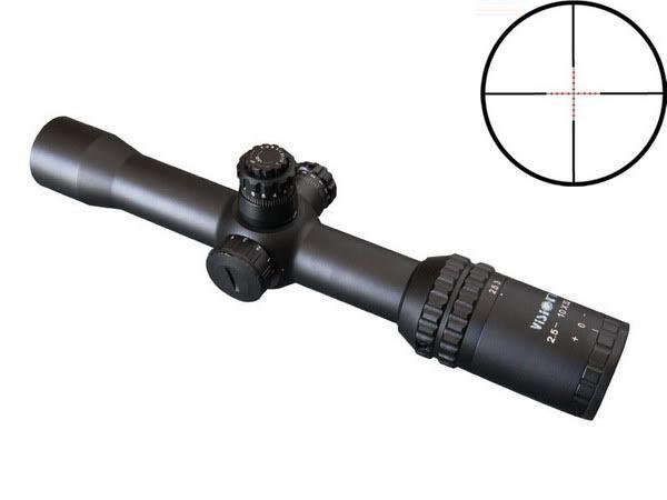 Mira Para Rifle Visionking 2.5-10x32 Caza Táctica Mil Dot 223 308 243 3006