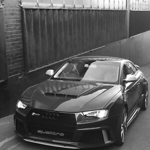 audi a5 coupe convertible wide arch body kit a5 rs5 s5 conversion audi a5 tuning ebay. Black Bedroom Furniture Sets. Home Design Ideas