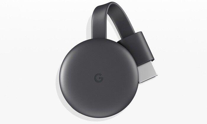 Google Chromecast GA00439-GB - Charcoal GENUINE BRAND NEW IN BOX