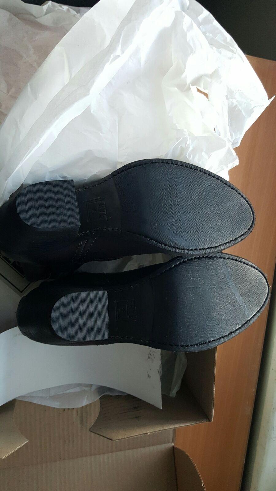 FRYE NIB  398 leslie artisan short charcoal grey boots boots boots shoes US 7.5 M 3faf23