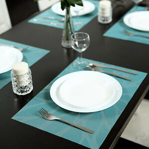Woven Dining Table Placemats Non Slip
