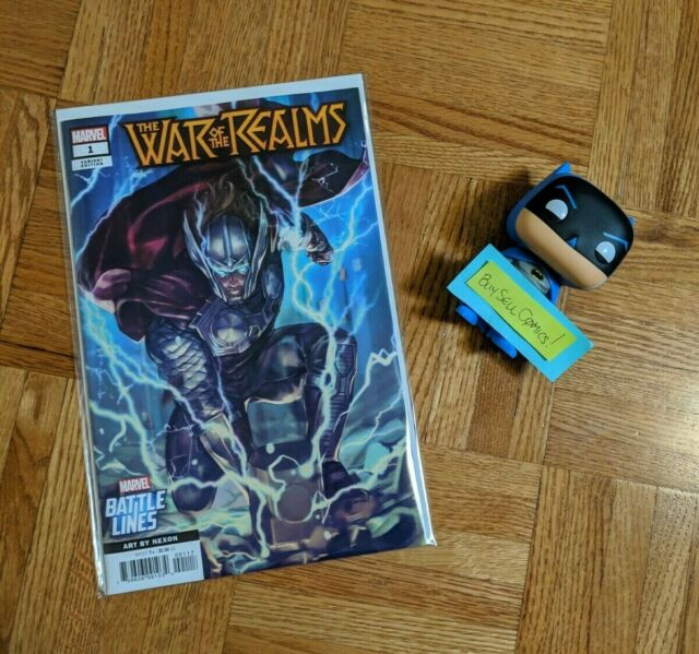 War Of The Realms #1 Nexon Battle Lines Variant First Print Marvel 2019 NM