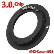 Af confirmar M42 Lente de chips a Iii Canon EOS EF Monte Anillo todas 550D 7D 5D es B