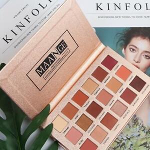 18-Farben-Lidschatten-Palette-Matte-Glitter-Makeup-Shimmer-Lidschatten-Kosmetik