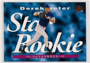 Details About Derek Jeter 1995 Upper Deck Star Rookie Card 225