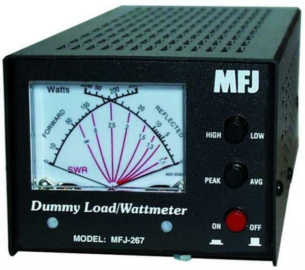 MFJ-267 Dummy load, SWR meter, 1.5kW, 0-60MHz. Buy it now for 179.95