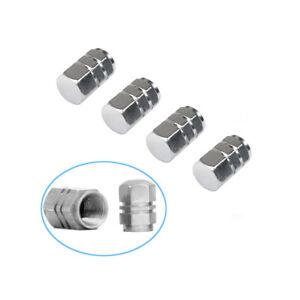 Q50-4x-Reifen-Ventilkappen-Alu-PKW-LKW-Motorrad-Fahrrad-f-Autoventile-JDM-Metall