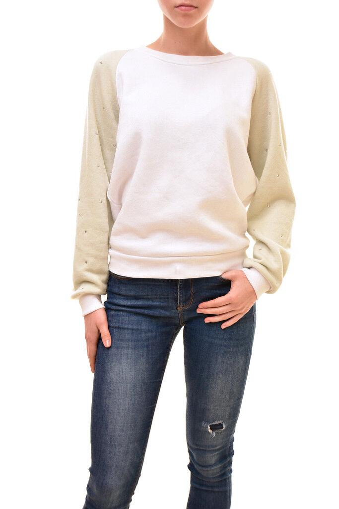 Wildfox Women's JR  Glitz Sleeve WFL190 Sweater Multi Size S RRP  BCF83