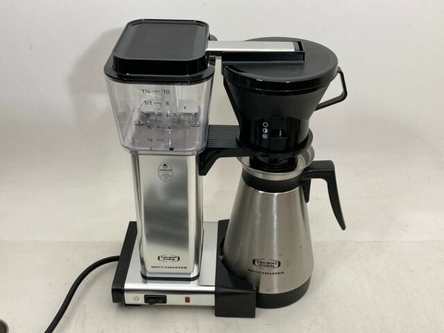 Moccamaster 79112 10 Cup Thermal Coffee Maker Silver For Sale Online Ebay